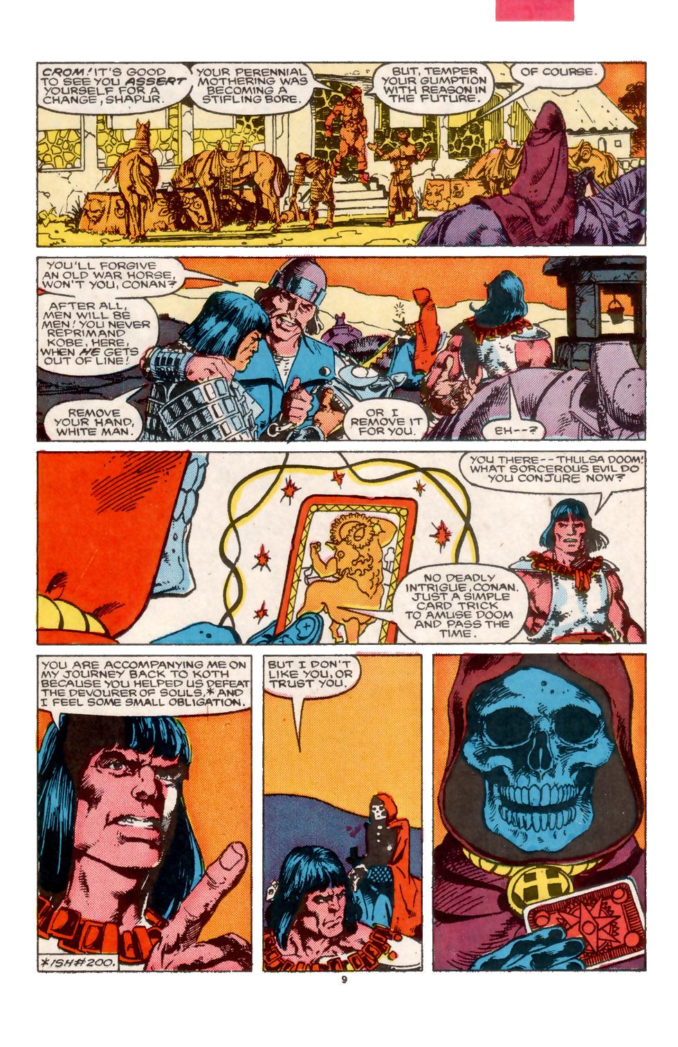 Conan the Barbarian (1970) Issue #202 #214 - English 10