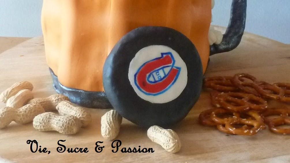 Rondelle avec le logo des Canadiens de Montréal