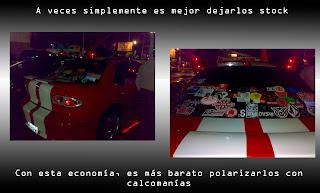 ricer, basura, tuning, custom, gtr, SRT4, volante, xenon, leds, feria, trash