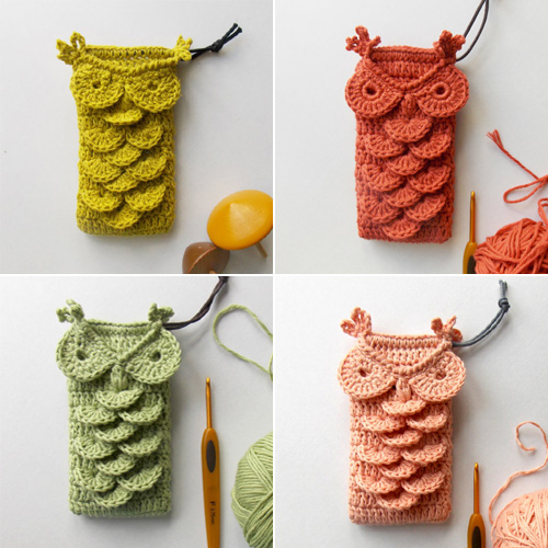 My Owl Barn: Crochet Owl Phone Case and Patterns