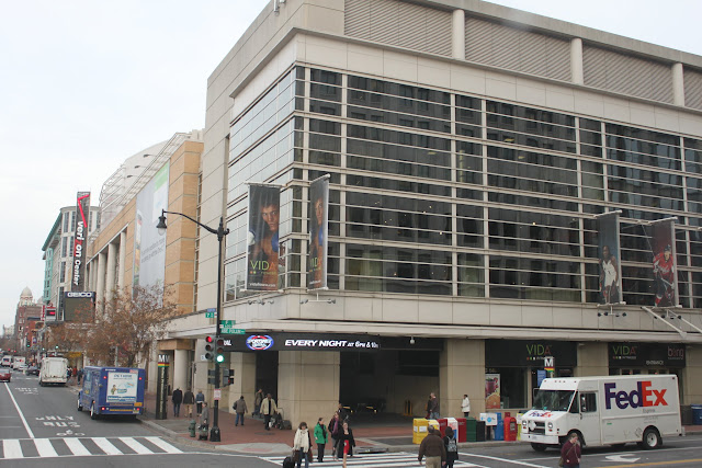Verizon Center is a famous entertainment and sports arena in Washington DC, USA