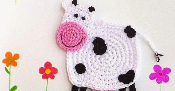 applique crochet pattern  animali