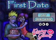 first date besos en el cine