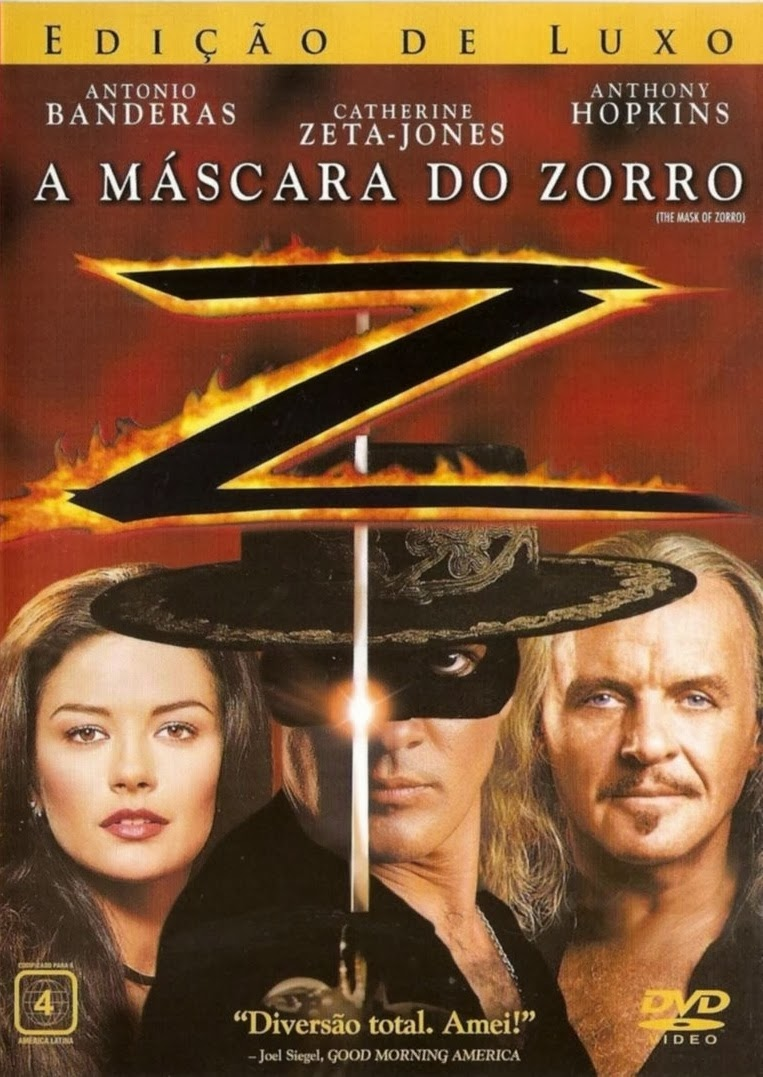 A Máscara do Zorro – Dublado (1998)