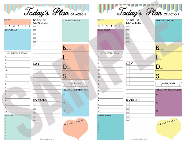 Download a FREE Daily Task Planner! - theretherekitten.com