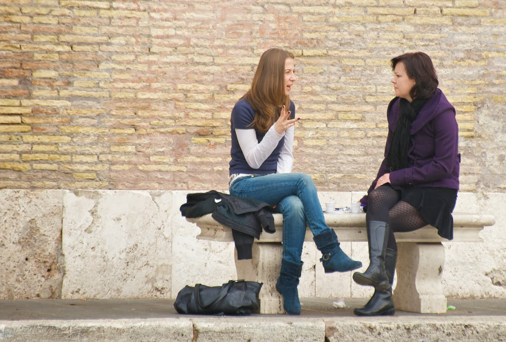 Women Talking and Listening