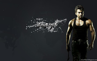 cool black colour pic of surya with hammer,surya pic for wallpaper,created by sharan