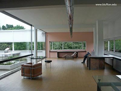 Open plan en una obra residencial Moderna