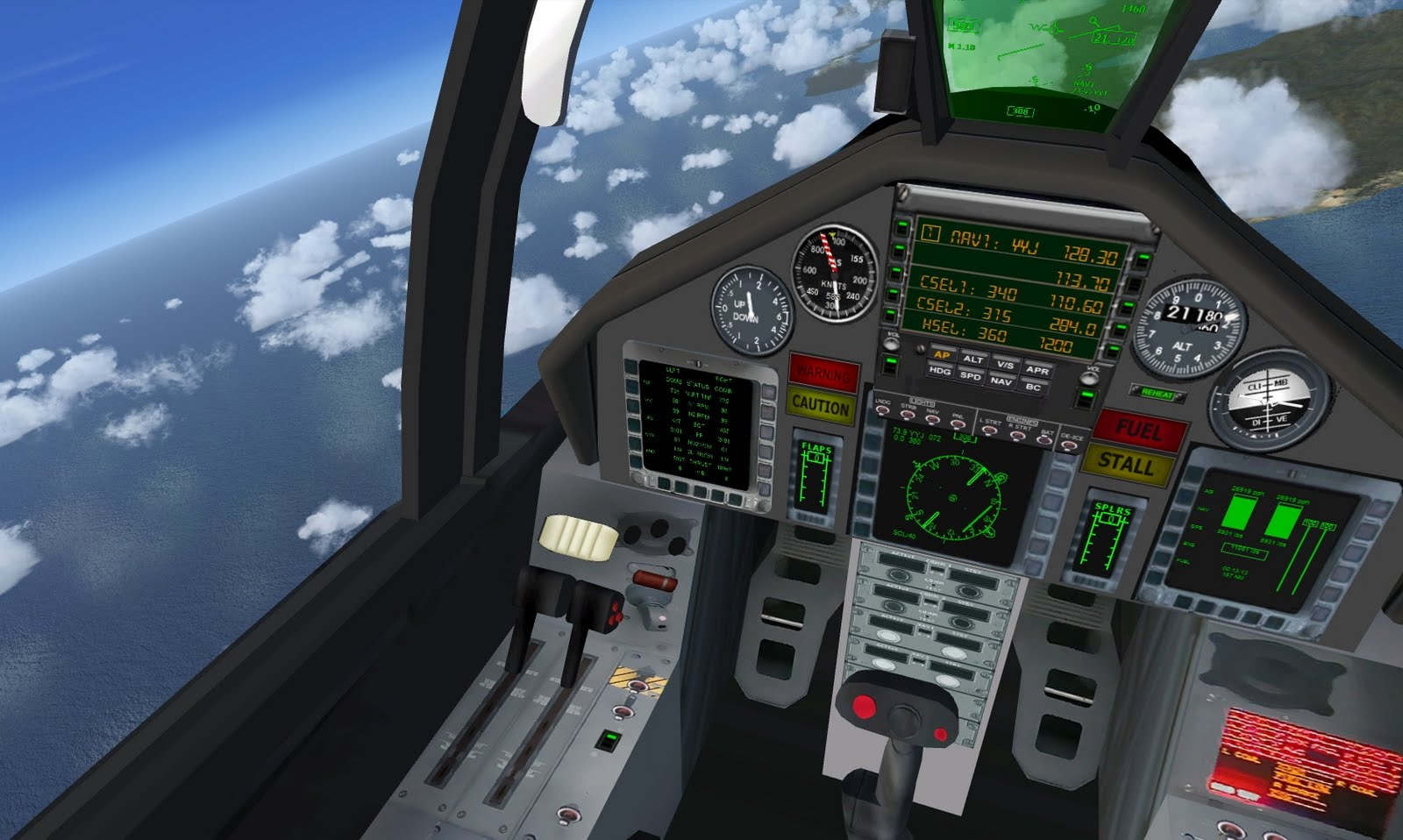 Jet Airlines: F... F 15 Cockpit