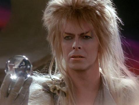 Jareth, el Rey de los Goblins (David Bowie), en Dentro del laberinto - Cine de Escritor