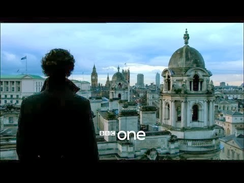 Sherlock series 3 The Empty Hearse BBC One Cumberbatch