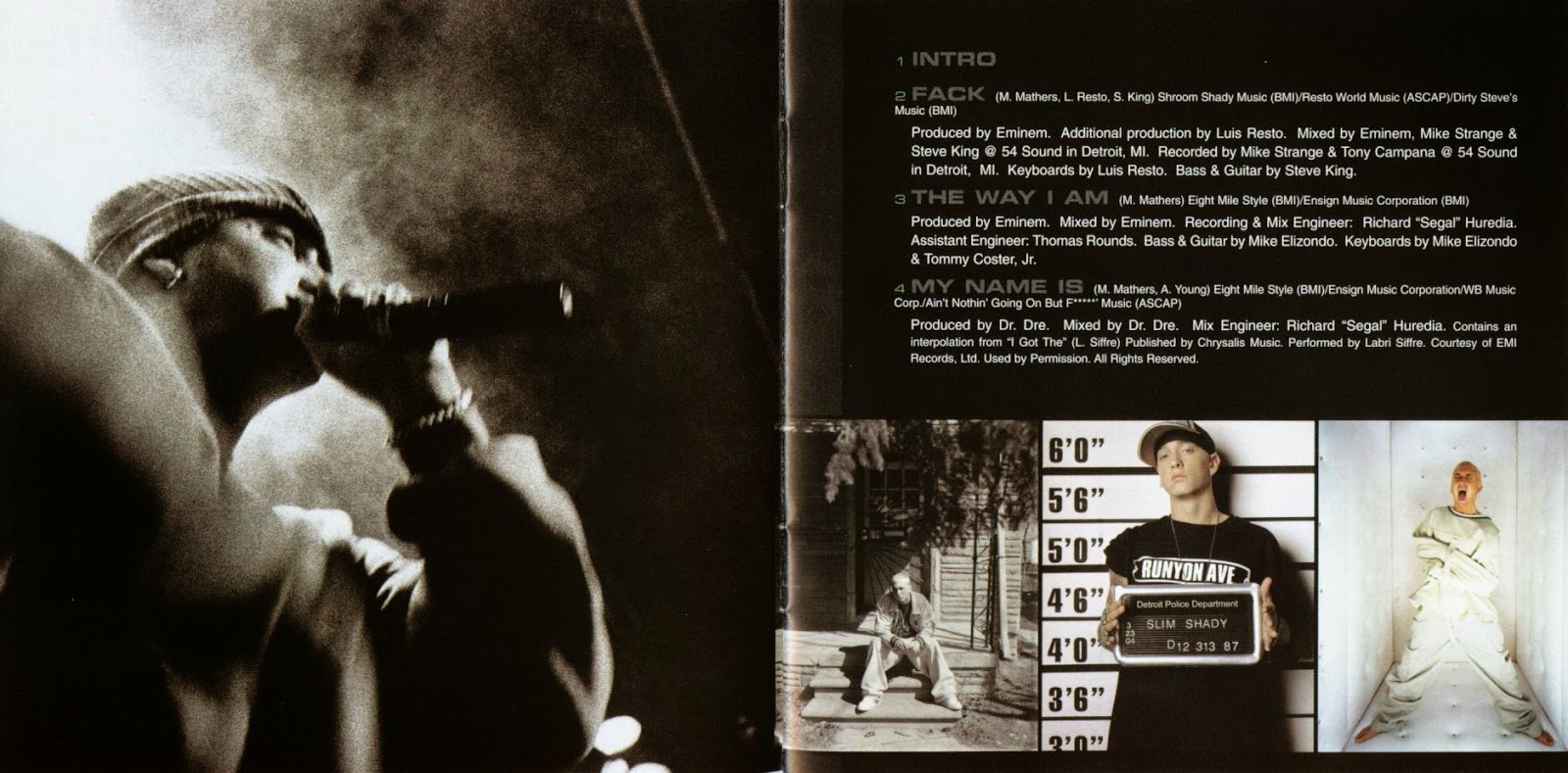Mundo Dos Encartes / World Of Booklets: Eminem - Curtain Call: The ...