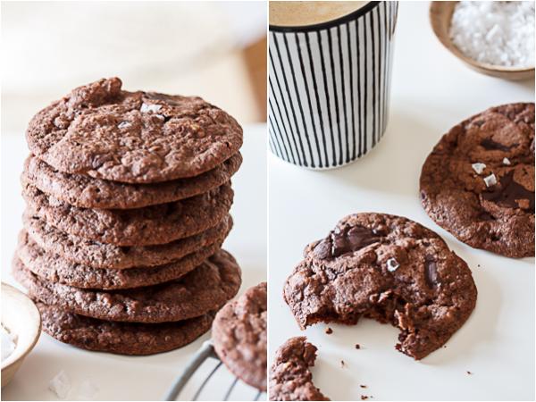 Amalie loves Denmark Schoko-Cookies mit Walnüssen