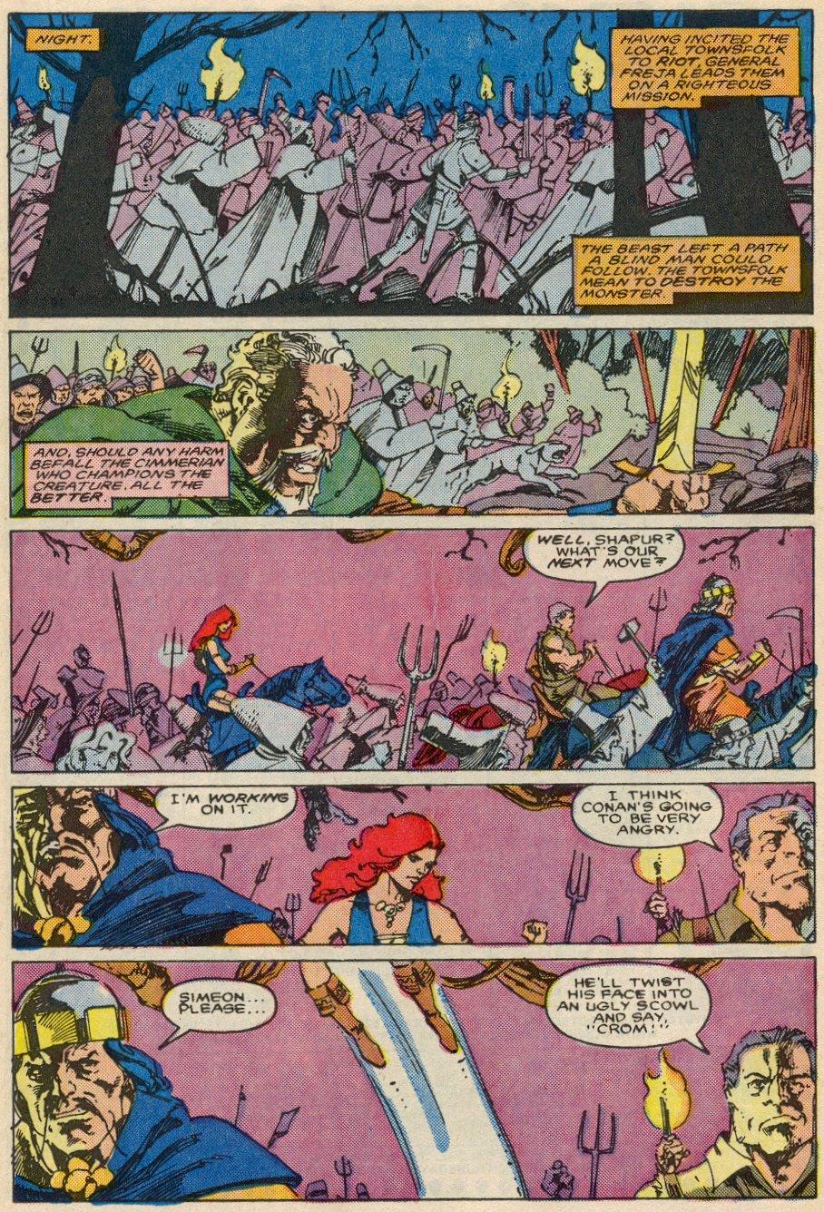 Conan the Barbarian (1970) Issue #197 #209 - English 17