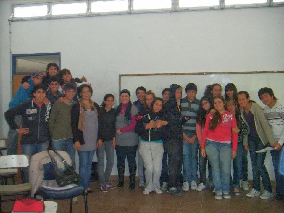 Visita al Liceo Parque del Plata