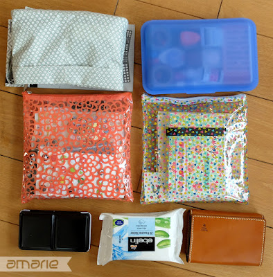einfach amarie - travel journal material