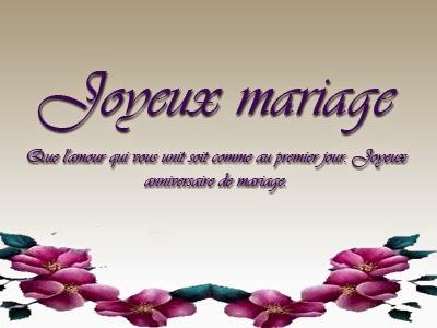 Jolie carte d anniversaire de mariage