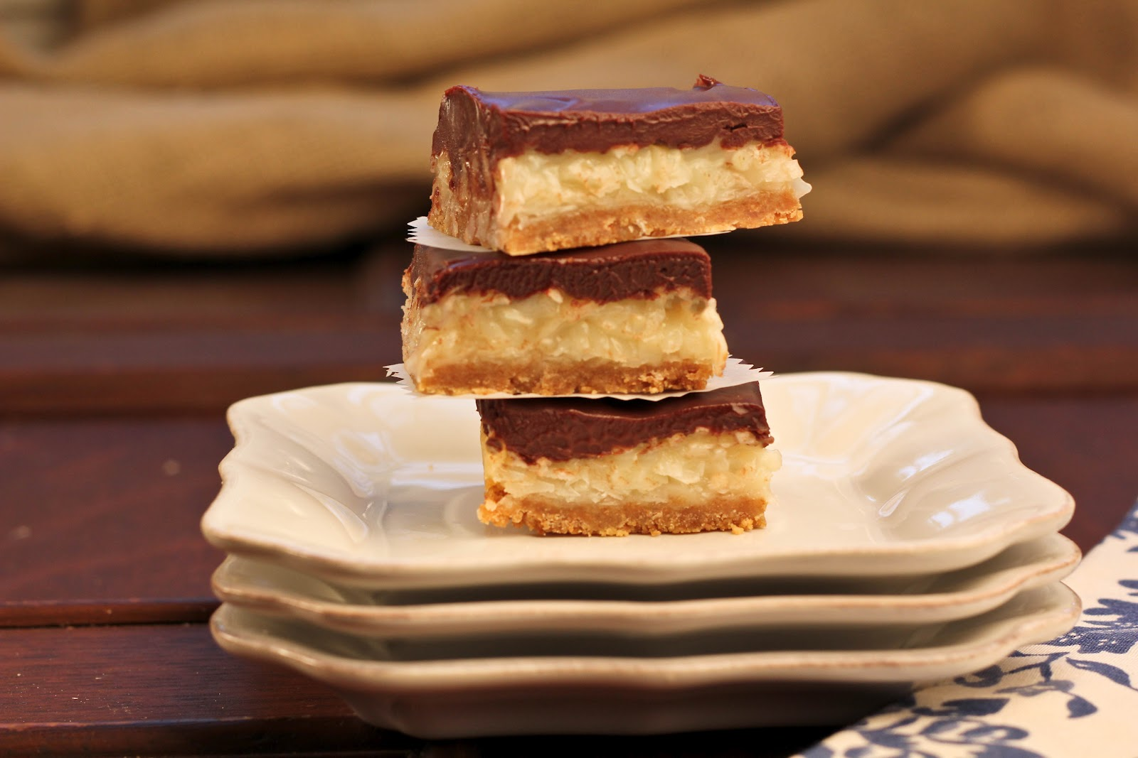 Chocolate coconut candy recipe