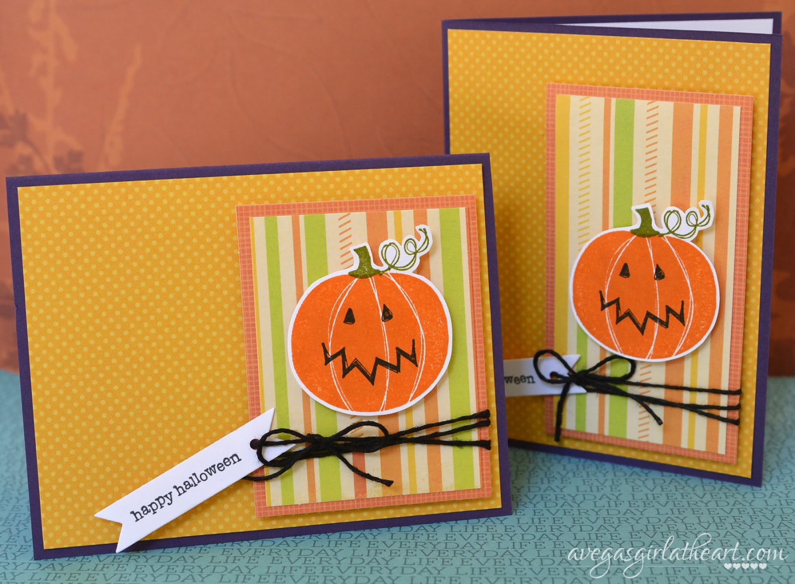 A vegas girl at heart happy halloween cards happy halloween cards kristyandbryce Images