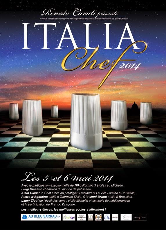 italia chef 2014, un concours de cuisine hors du commun