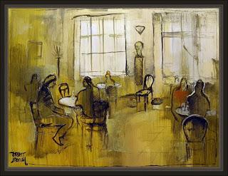 Café Milena, Praga - Ernest Descals