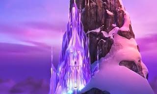 castillo de hielo elsa