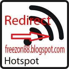 redirect atau mengalihkan halaman login hotspot mikrotik