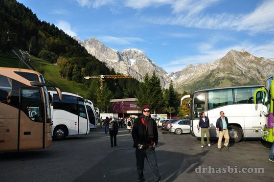 Melancong ke Mount Titlis Switzerland bersama SHOM