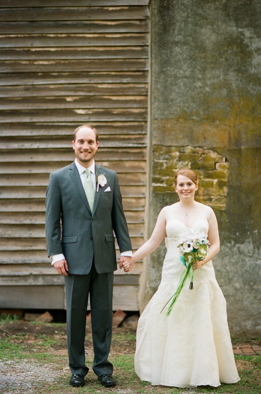 Wedding Portrait Mooresville post office
