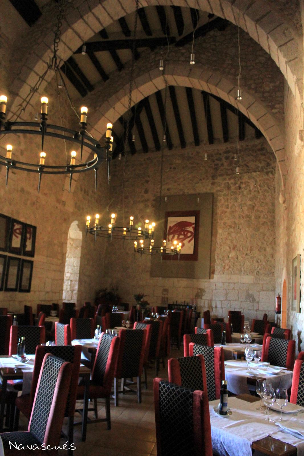 Salón de Banquetes del Castillo-Parador