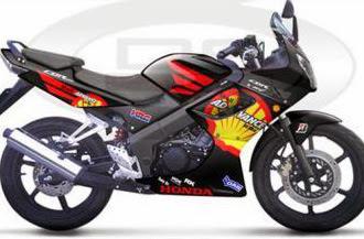 Full Stiker Modifikasi Honda CBR Terbaru