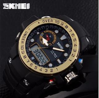 Jam Tangan SKMEI RING Dual Time, Rp. 275.000 Kode J155