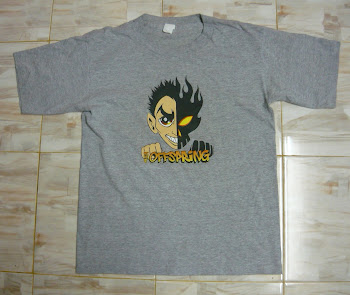 T band Thee Offspring sz M