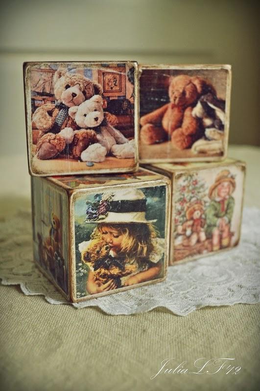 МК кубики для мишек