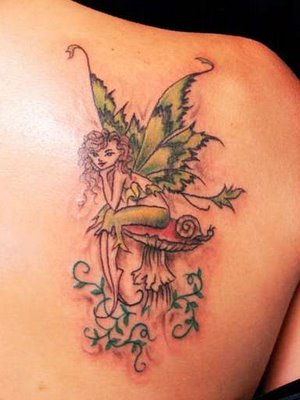 Women Fairy Tattoo