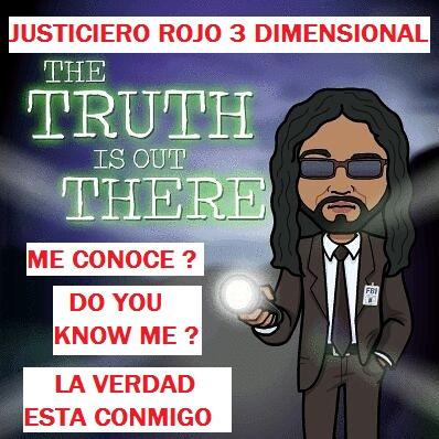 JUSTICIERO ROJO 3 DIMENSIONAL