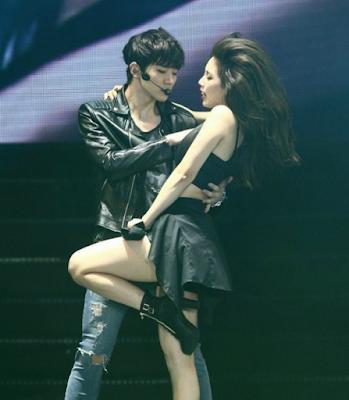 Aksi Hot Suzy Miss A di Ketika Manggung
