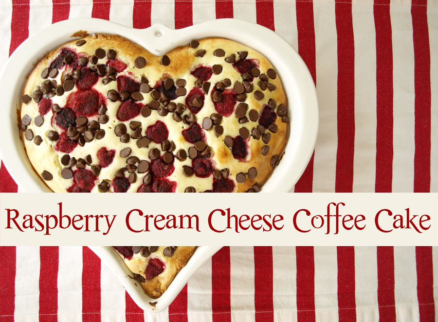 ... Than-Perfect Life of Bliss: Raspberry Cream Cheese Coffee Cake {Love