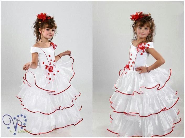 Бальные платья для девочек.  Party dresses for girls.