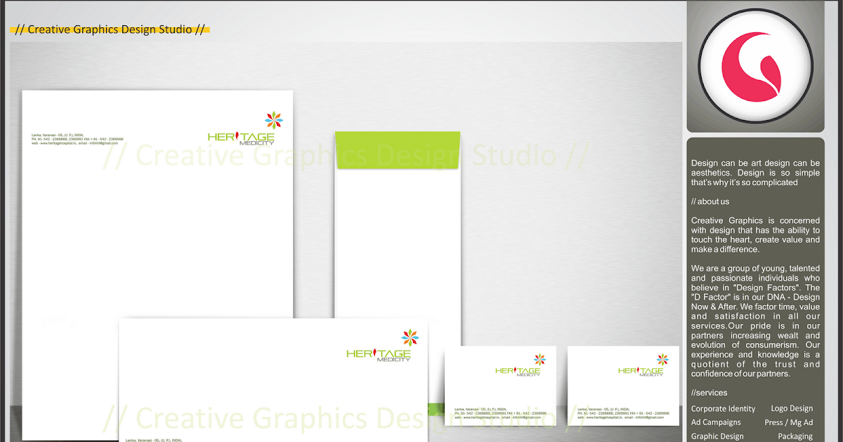 Corporate Identity for Heritage Medicity. | cgds