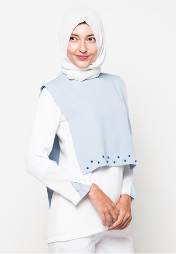 24 Foto Desain Atasan Muslimah Modern Terbaru Kumpulan