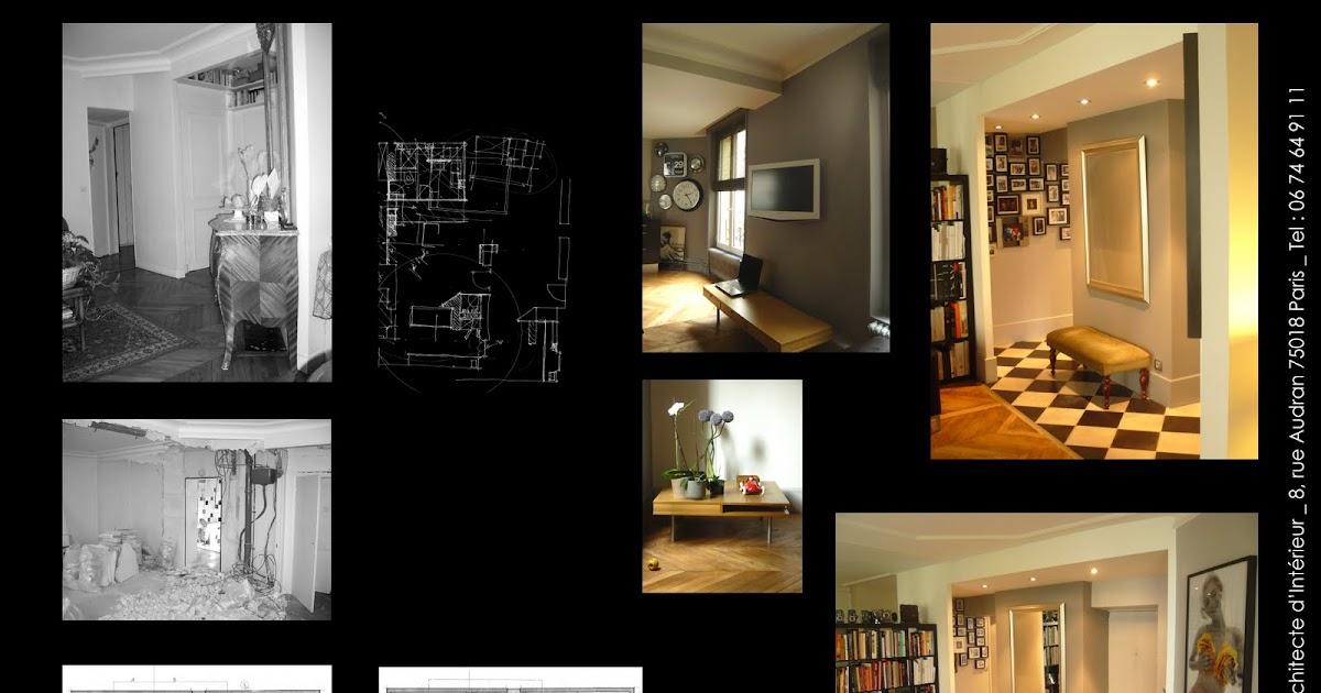 armel tual architecte d 39 int rieur cfai appartement de 80m2. Black Bedroom Furniture Sets. Home Design Ideas