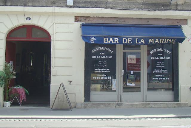 Bordeaux Resto: La Bar de la Marine