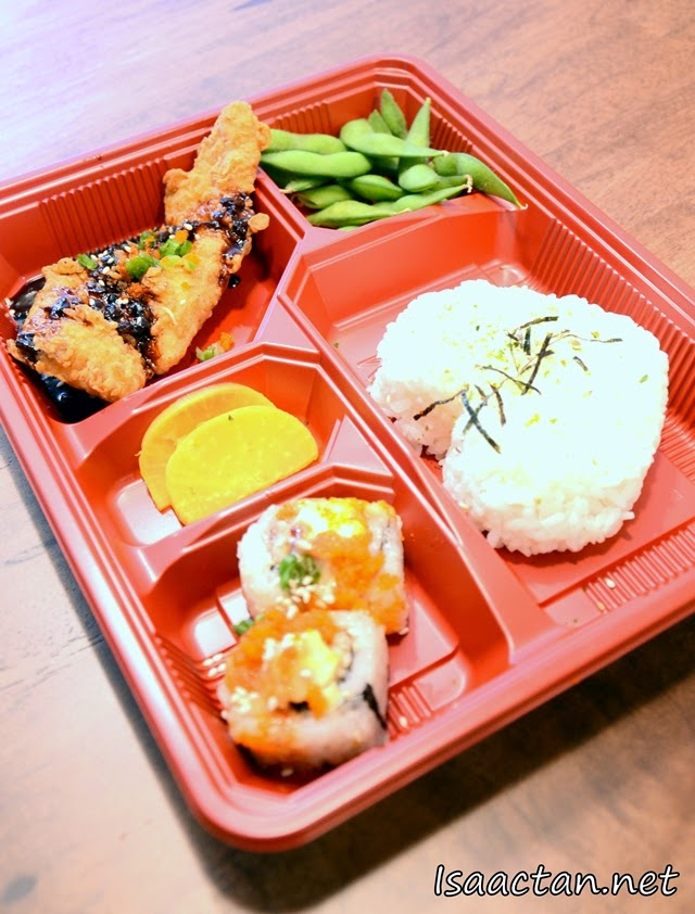 #1 Chicken Teriyaki Bento - RM13.80