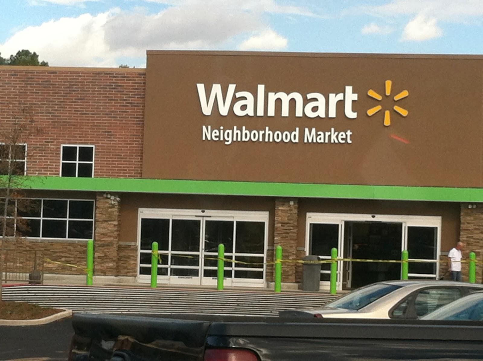 Walmart Neighborhood Market Sign Up; Lithonia Store Opening Soon ...