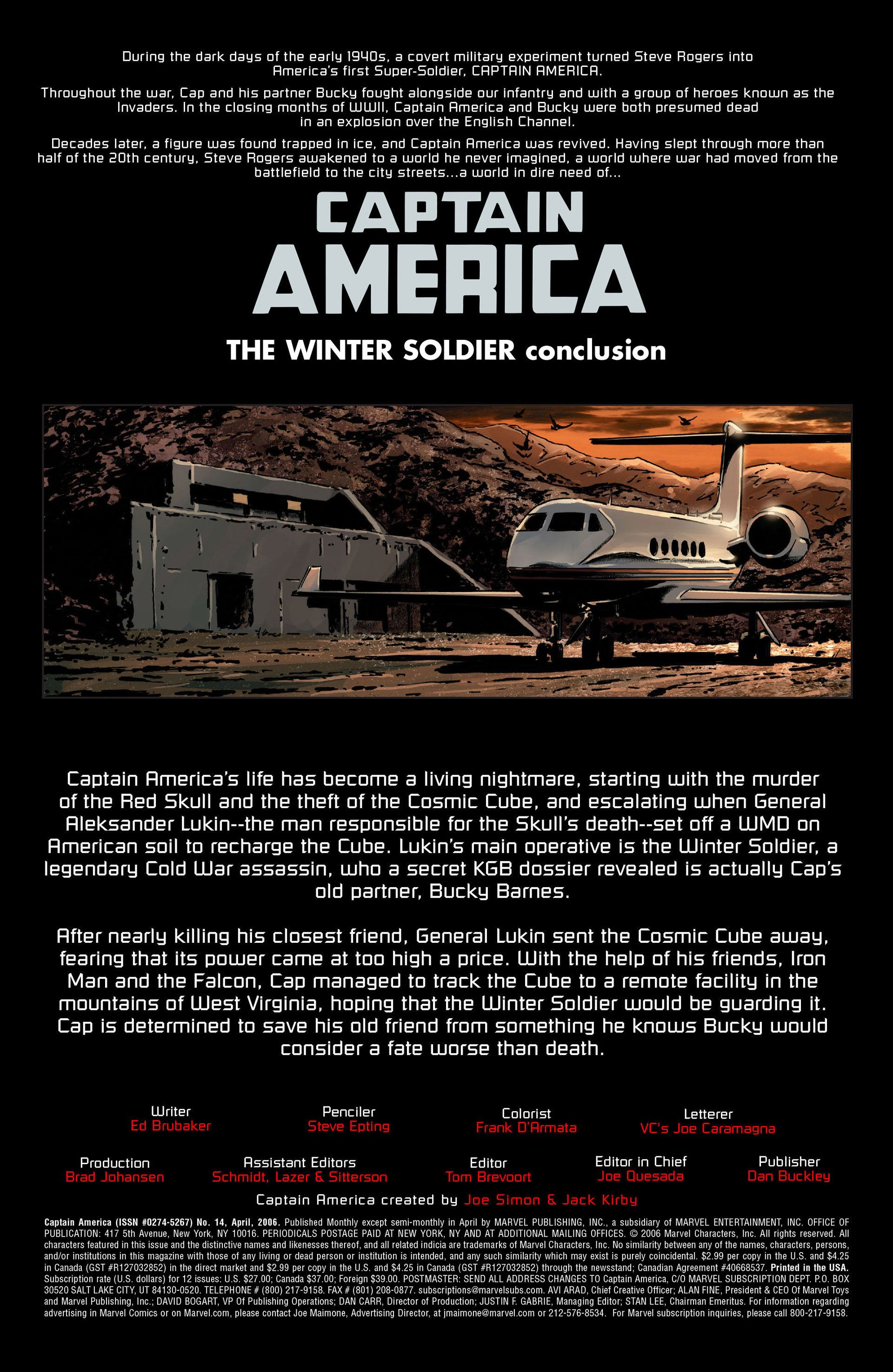 Captain America (2005) Issue #14 #14 - English 4