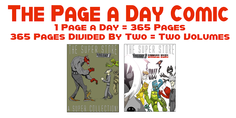 The Page a Day Comic