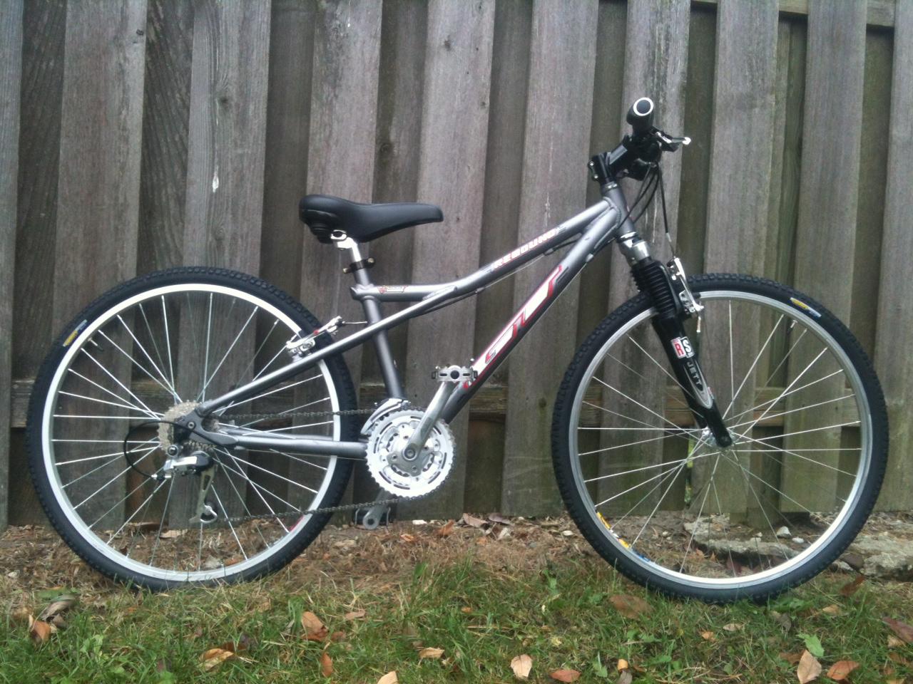 John S Bicycle Restorations Restored Gt Rebound Mountain Bike For
