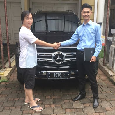 Delivery GLS 400 Exclusive a/n Bapak Aripin