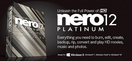 Nero 12.0 Platinum download